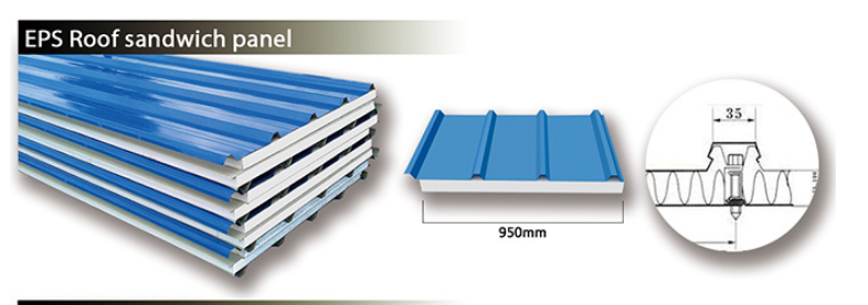 EPS Corrugated Sandwich Panel